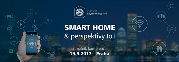Upoutávka konference SMART HOME 2017
